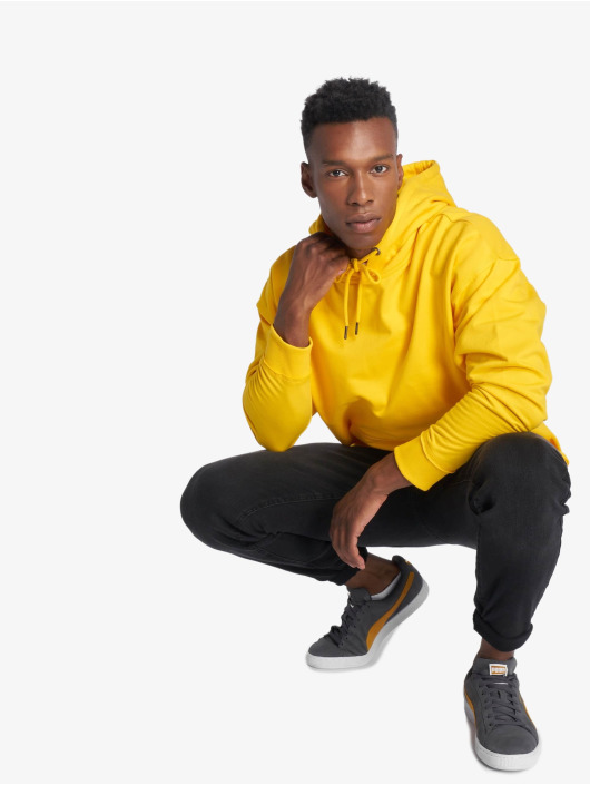 Urban Classics Sweat capuche Oversized Sweat jaune