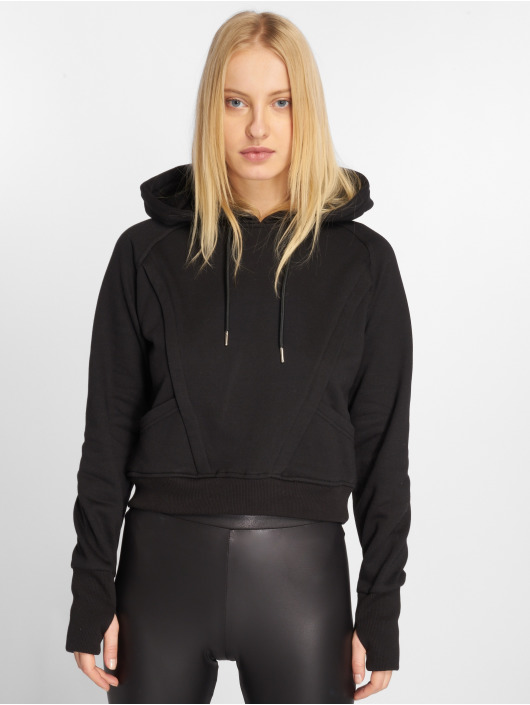 Urban Classics Sweat capuche Thumb Hole noir