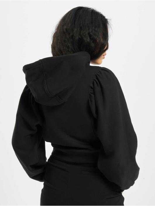 Urban Classics Sweat capuche Organic Gathering Batwing noir