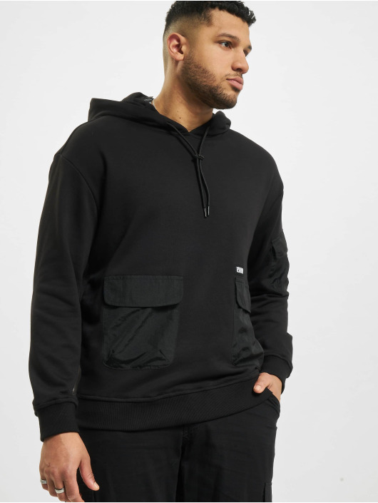 Urban Classics Sweat capuche Commuter noir