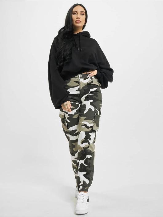 Urban Classics Sweat capuche Ladies Organic Oversized noir