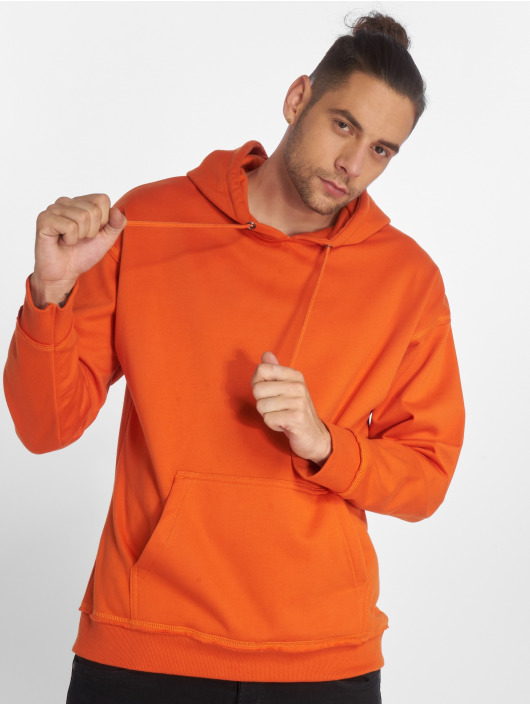 Urban Classics Sweat capuche Oversized orange