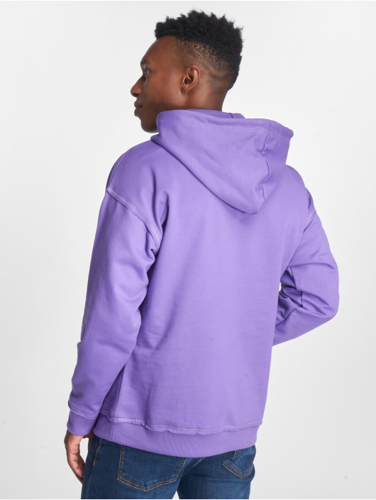 Urban Classics Sweat capuche Oversized Sweat pourpre