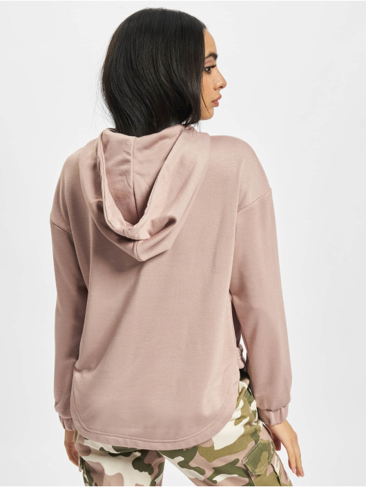 Urban Classics Sweat capuche Ladies Oversized Shaped Modal Terry rose
