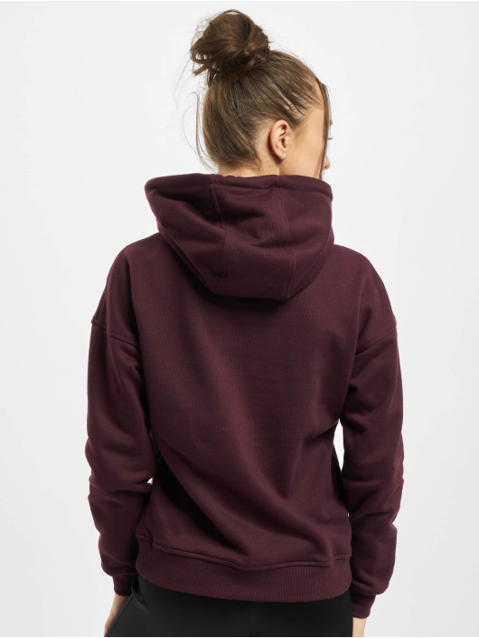 Urban Classics Sweat capuche Ladies rouge