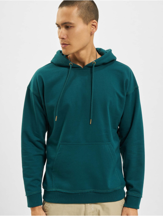 Urban Classics Sweat capuche Oversized turquoise