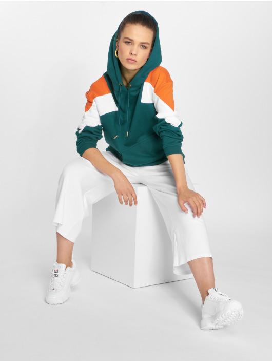 Urban Classics Sweat capuche Oversize 3-Tone Block vert