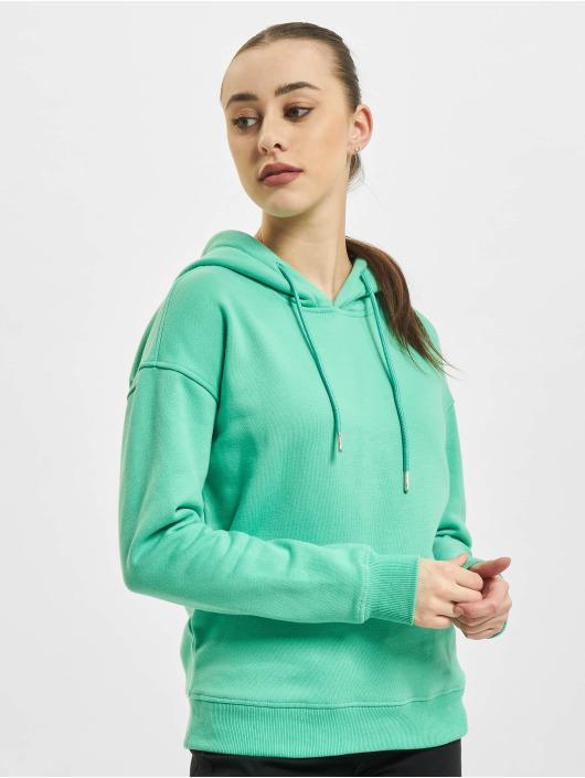 Urban Classics Sweat capuche Ladies vert