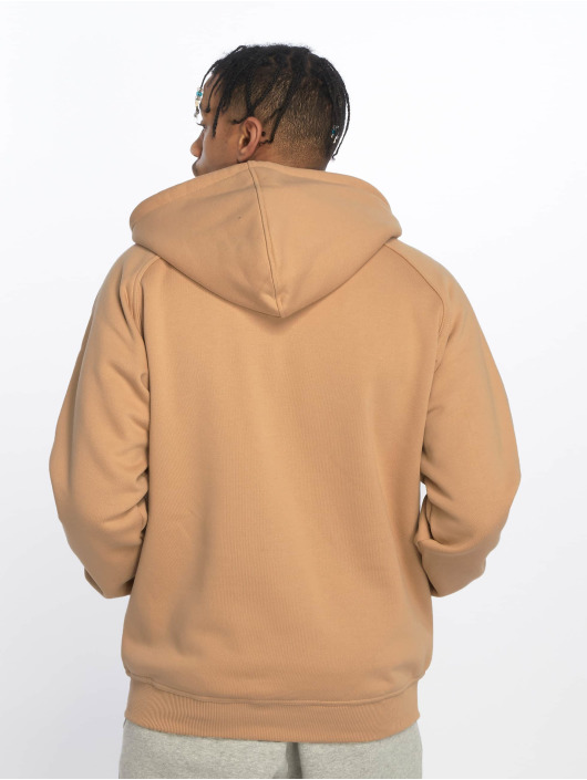 Urban Classics Sweat capuche zippé Blank beige