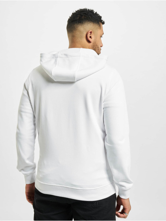 Urban Classics Sweat capuche zippé Basic Terry blanc