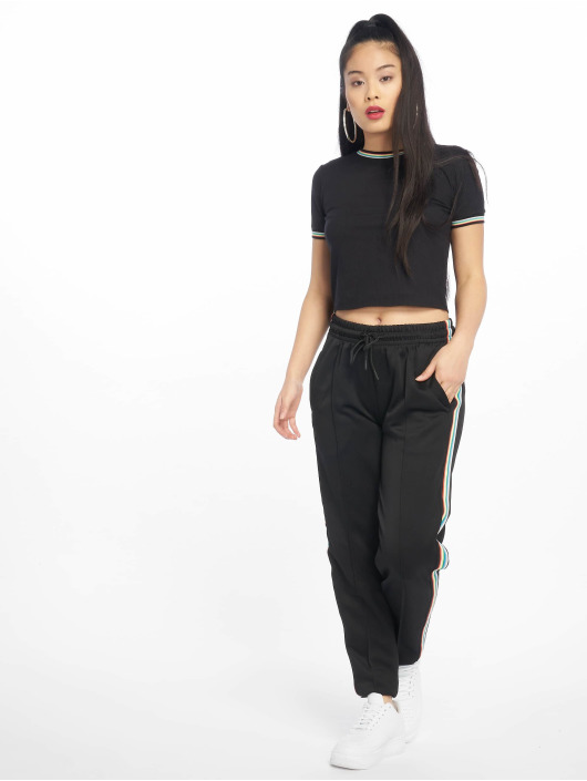 Urban Classics Sweat Pant Multicolor Side Taped black