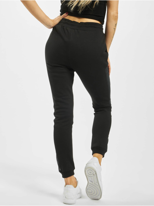 Urban Classics Sweat Pant Tech Mesh Side Stripe black