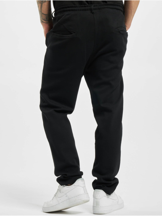 Urban Classics Sweat Pant Formula Cropped Peached Interlock black