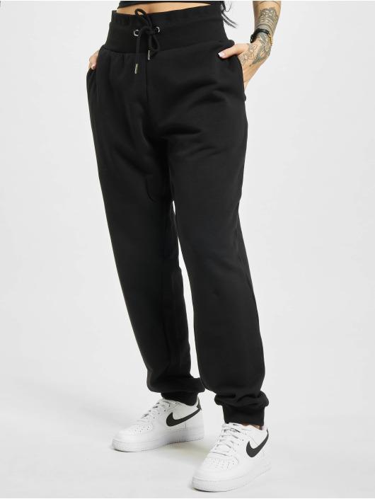 Urban Classics Sweat Pant Organic High Waist black