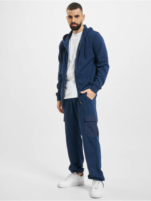 Urban Classics Sweat Pant Commuter blue