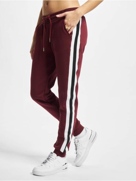 Urban Classics Sweat Pant Ladies College Contrast red