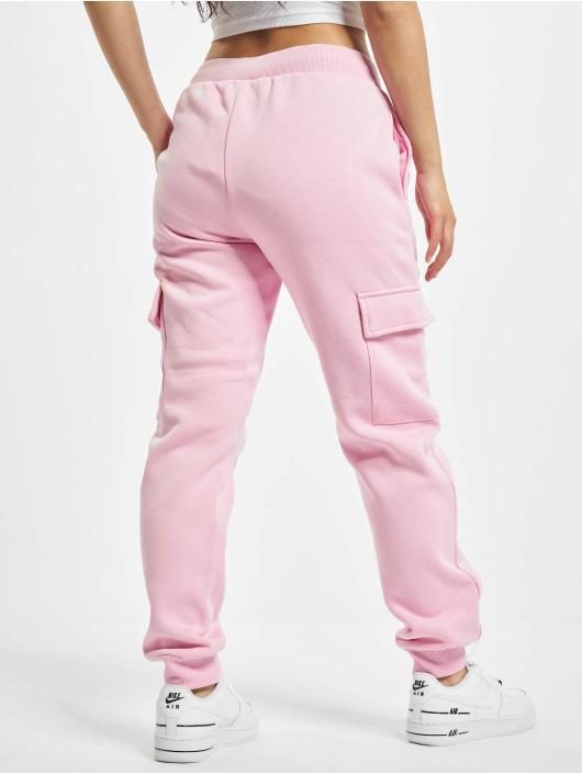 Urban Classics Sweat Pant Ladies Cargo rose
