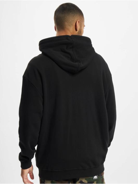 Urban Classics Sweatvest Organic Full Zip zwart