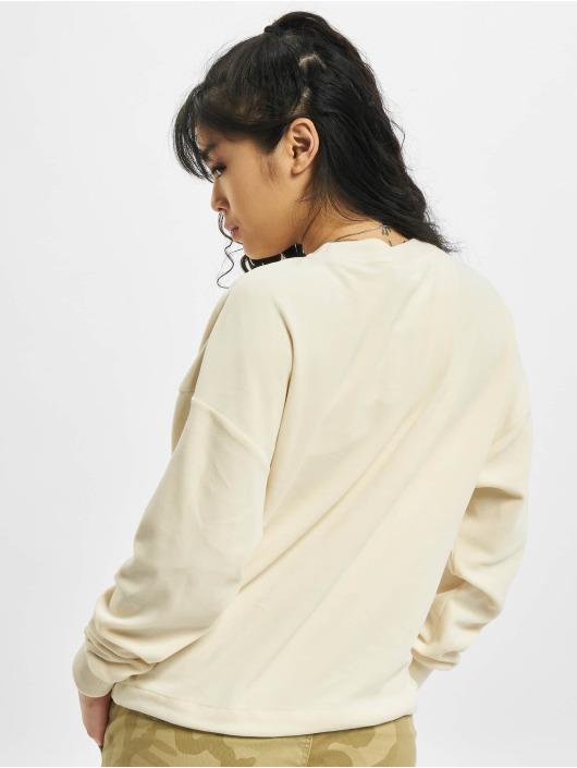 Urban Classics Swetry Oversized Velvet bezowy