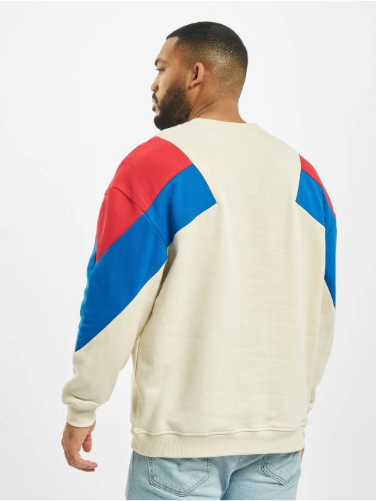 Urban Classics Swetry Oversize 3-Tone bezowy