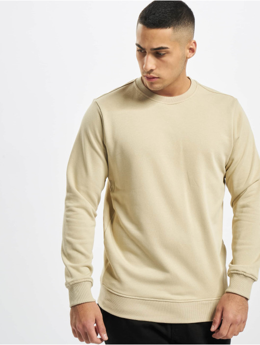Urban Classics Swetry Basic Terry Crew bezowy