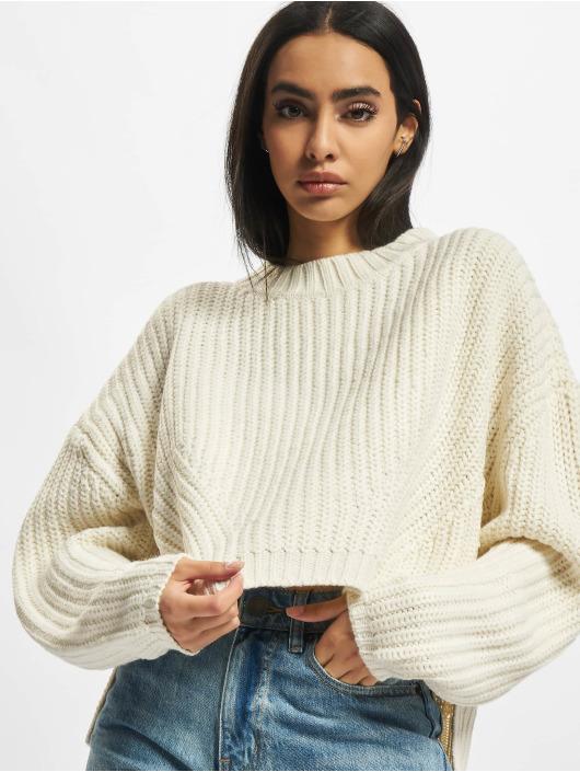 Urban Classics Swetry Ladies Wide Oversize bezowy