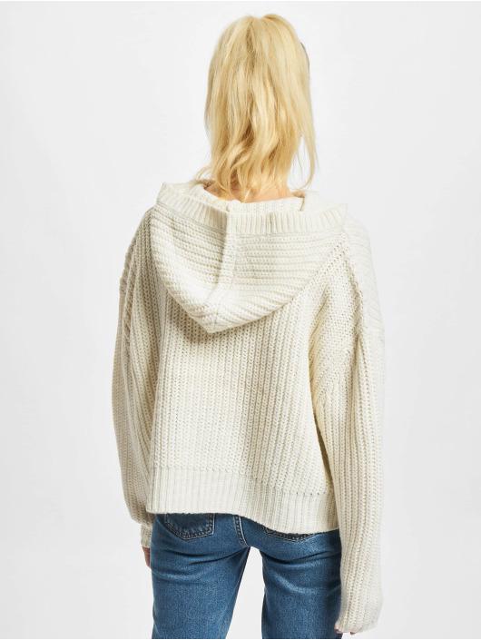 Urban Classics Swetry Ladies Oversized bezowy