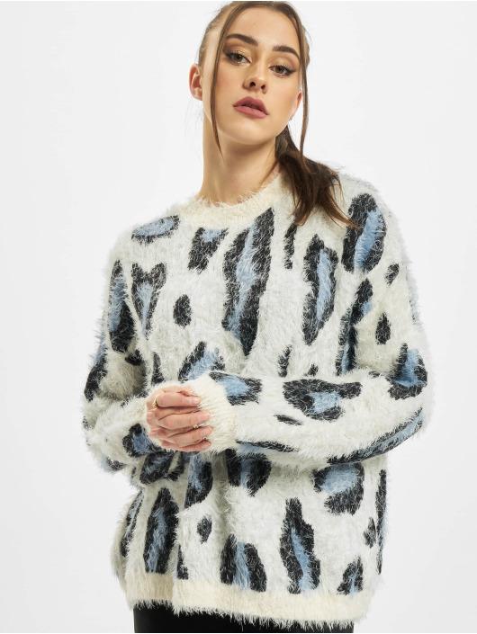 Urban Classics Swetry Ladies Leo bialy