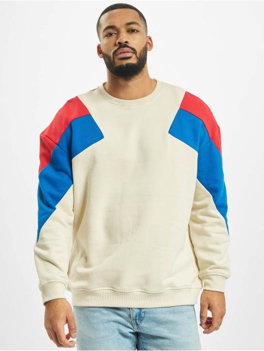 Urban Classics Swetry Oversize 3-Tone brazowy