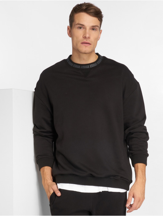 Urban Classics Swetry Oversize czarny