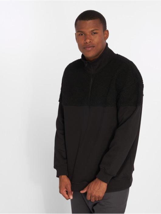 Urban Classics Swetry Oversize Sherpa czarny