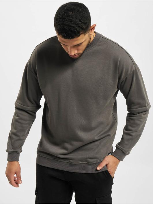 Urban Classics Swetry Zip Away Oversized Terry Crew czarny