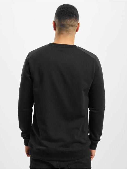 Urban Classics Swetry Military Shoulder Crew czarny