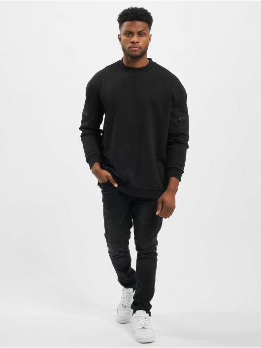 Urban Classics Swetry Training Terry Crew czarny