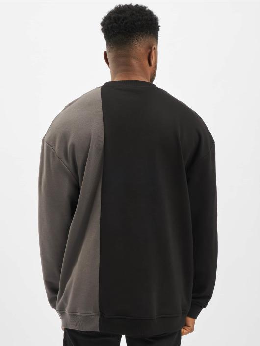 Urban Classics Swetry Side Block Crew czarny