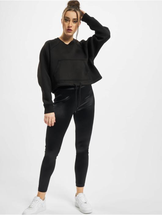 Urban Classics Swetry Ladies Oversized Short Raglan Crew czarny