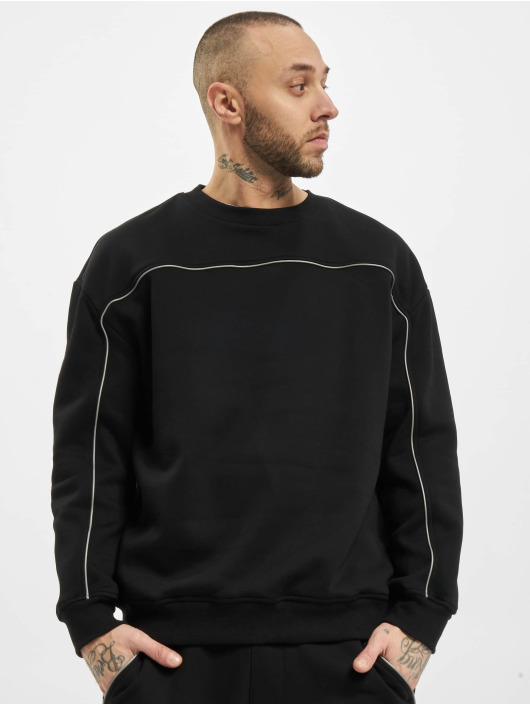 Urban Classics Swetry Reflective Crew czarny