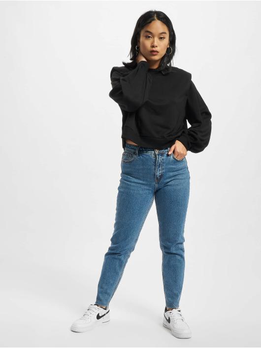 Urban Classics Swetry Ladies Padded Shoulder Modal Terry czarny