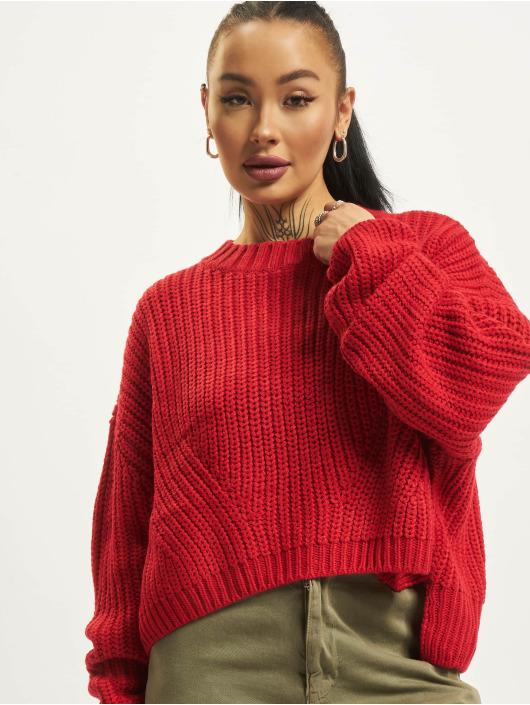 Urban Classics Swetry Wide Oversize czerwony