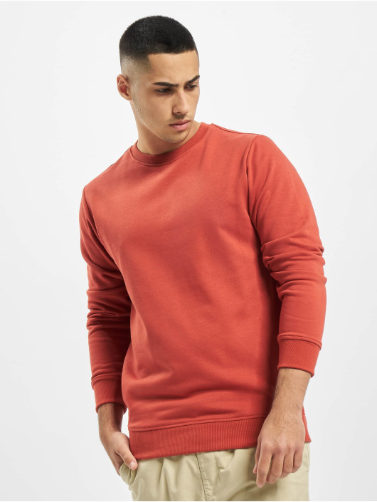 Urban Classics Swetry Basic Terry Crew czerwony