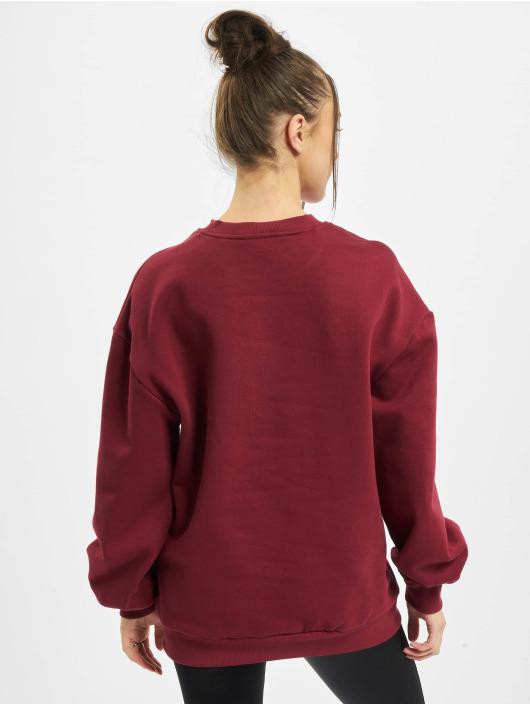 Urban Classics Swetry Organic Oversized czerwony