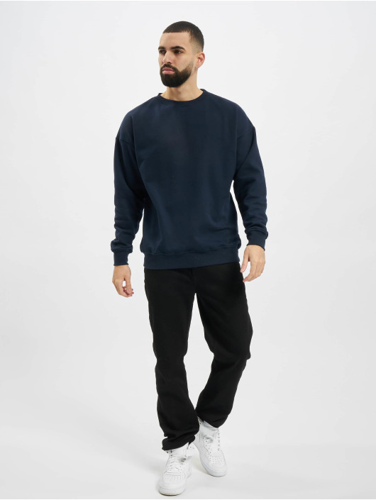 Urban Classics Swetry Sweat Crewneck niebieski