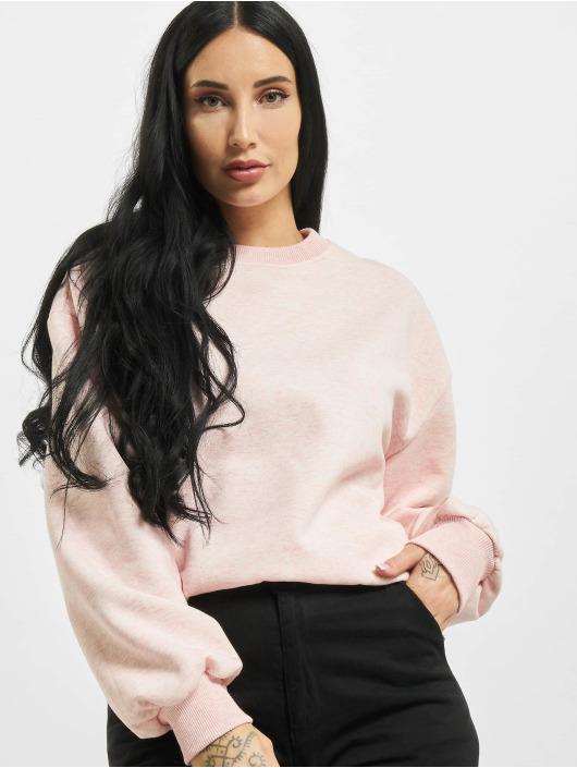 Urban Classics Swetry Ladies Oversized rózowy