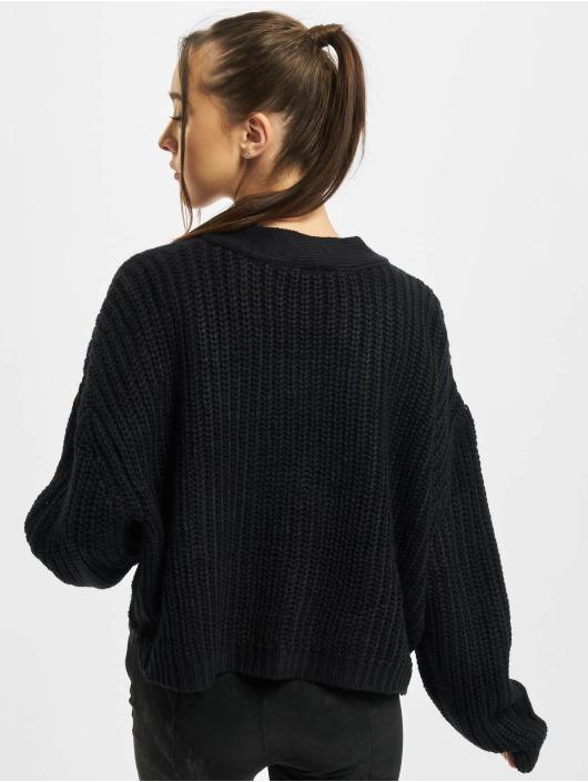 Urban Classics Swetry rozpinane Oversized czarny