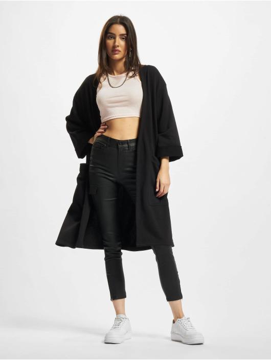 Urban Classics Swetry rozpinane Ladies Oversized czarny