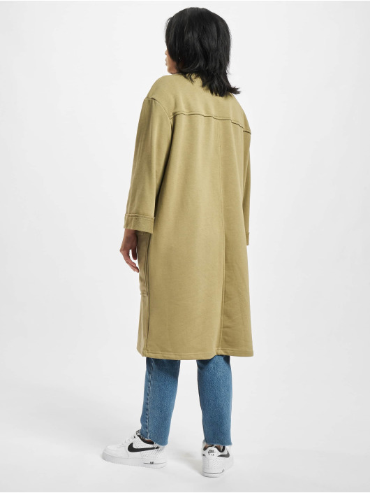 Urban Classics Swetry rozpinane Ladies Oversized Terry khaki