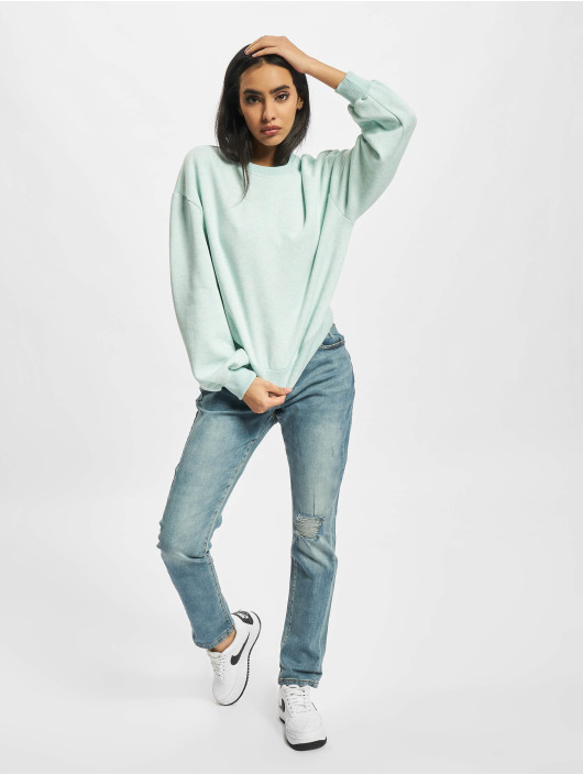 Urban Classics Swetry Ladies Oversized turkusowy