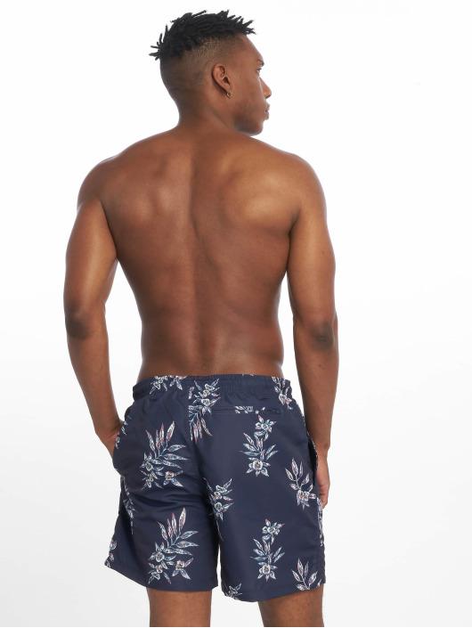 Urban Classics Swim shorts Pattern blue