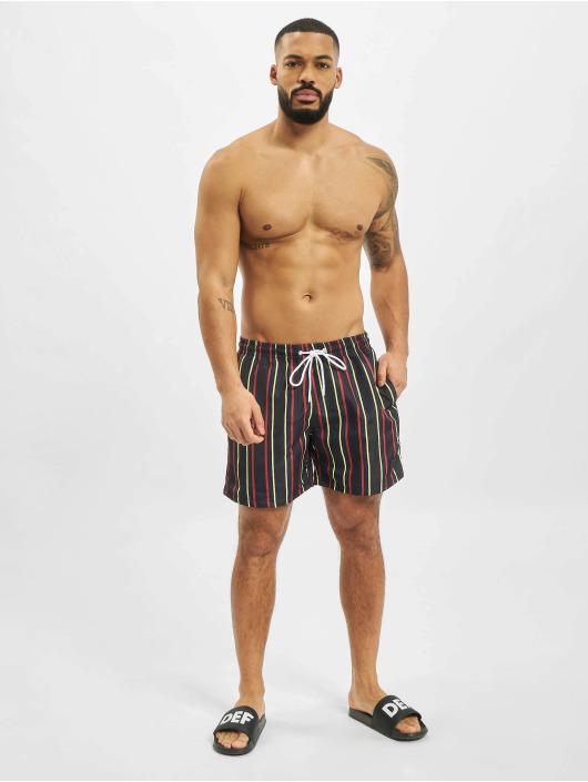 Urban Classics Swim shorts Stripe blue