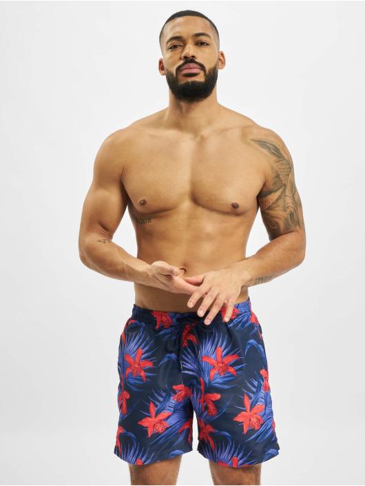 Urban Classics Swim shorts Pattern Swim blue